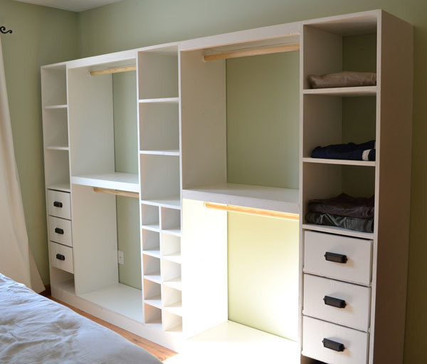 Best ideas about DIY Wall Closet . Save or Pin Ana White Now.