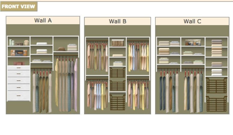 Best ideas about DIY Wall Closet . Save or Pin DIY Closet System Plans Now.