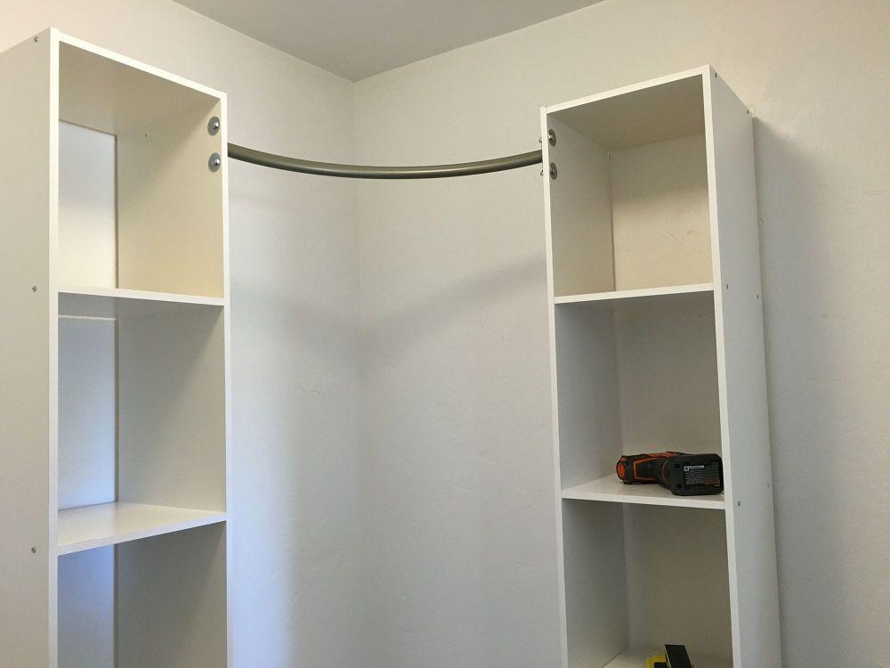 Best ideas about DIY Wall Closet . Save or Pin Corner Closet DIY Now.