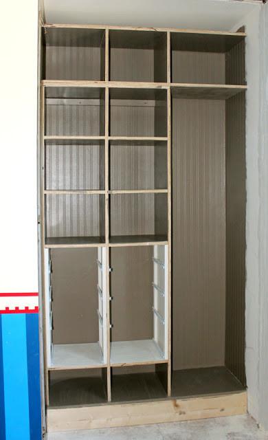 Best ideas about DIY Wall Closet . Save or Pin DIY Between the Studs Shelf Closet Makeover Part 2 Now.