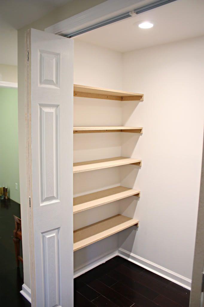 Best ideas about DIY Wall Closet . Save or Pin Closet Organization Shelves DIY Now.