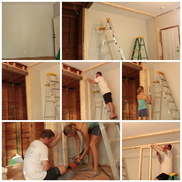 Best ideas about DIY Wall Closet . Save or Pin easy DIY wall to wall closet Now.