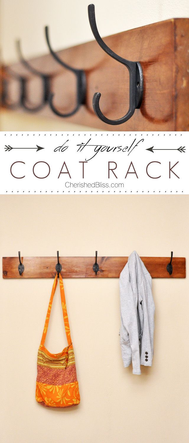 Best ideas about DIY Wall Hooks . Save or Pin Best 25 Coat racks ideas on Pinterest Now.