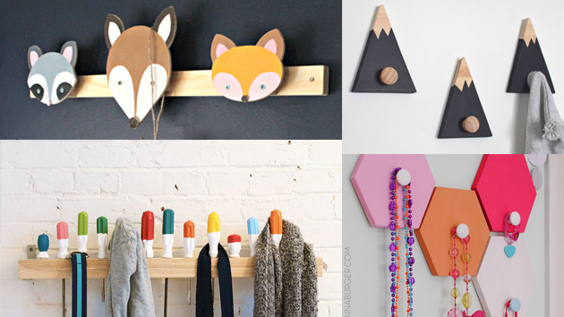 Best ideas about DIY Wall Hooks . Save or Pin 20 DIY Wall Hooks to Hang Your Items At Home Now.