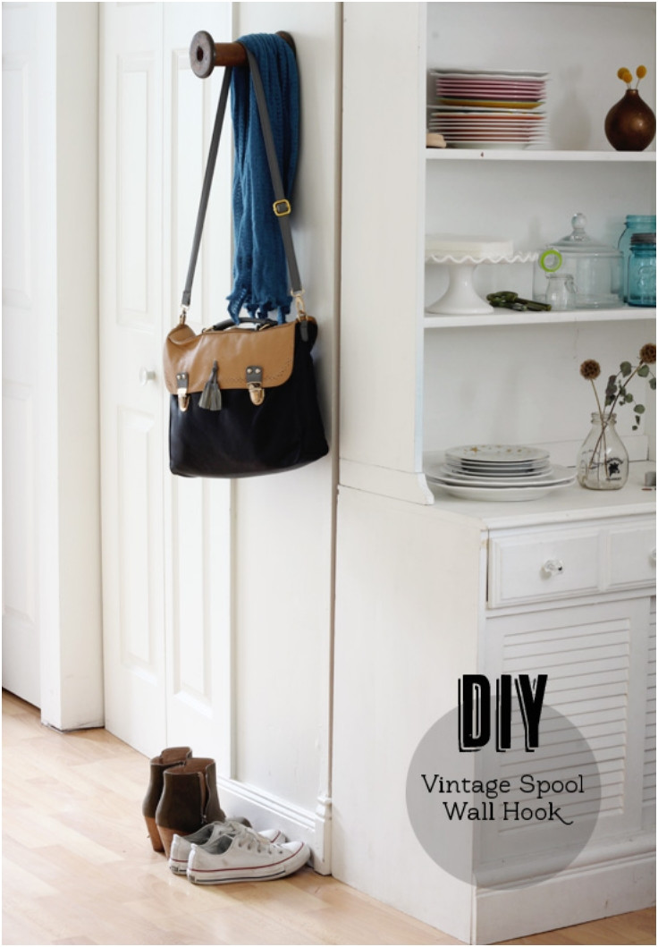 Best ideas about DIY Wall Hooks . Save or Pin Top 10 Interesting DIY Wall Hooks Top Inspired Now.