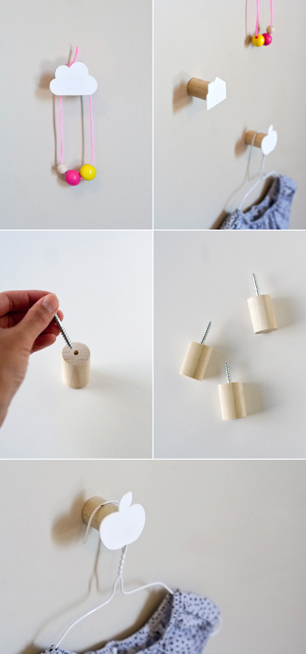 Best ideas about DIY Wall Hooks . Save or Pin DIY DECORATIVE WALL HOOKS s and for Now.