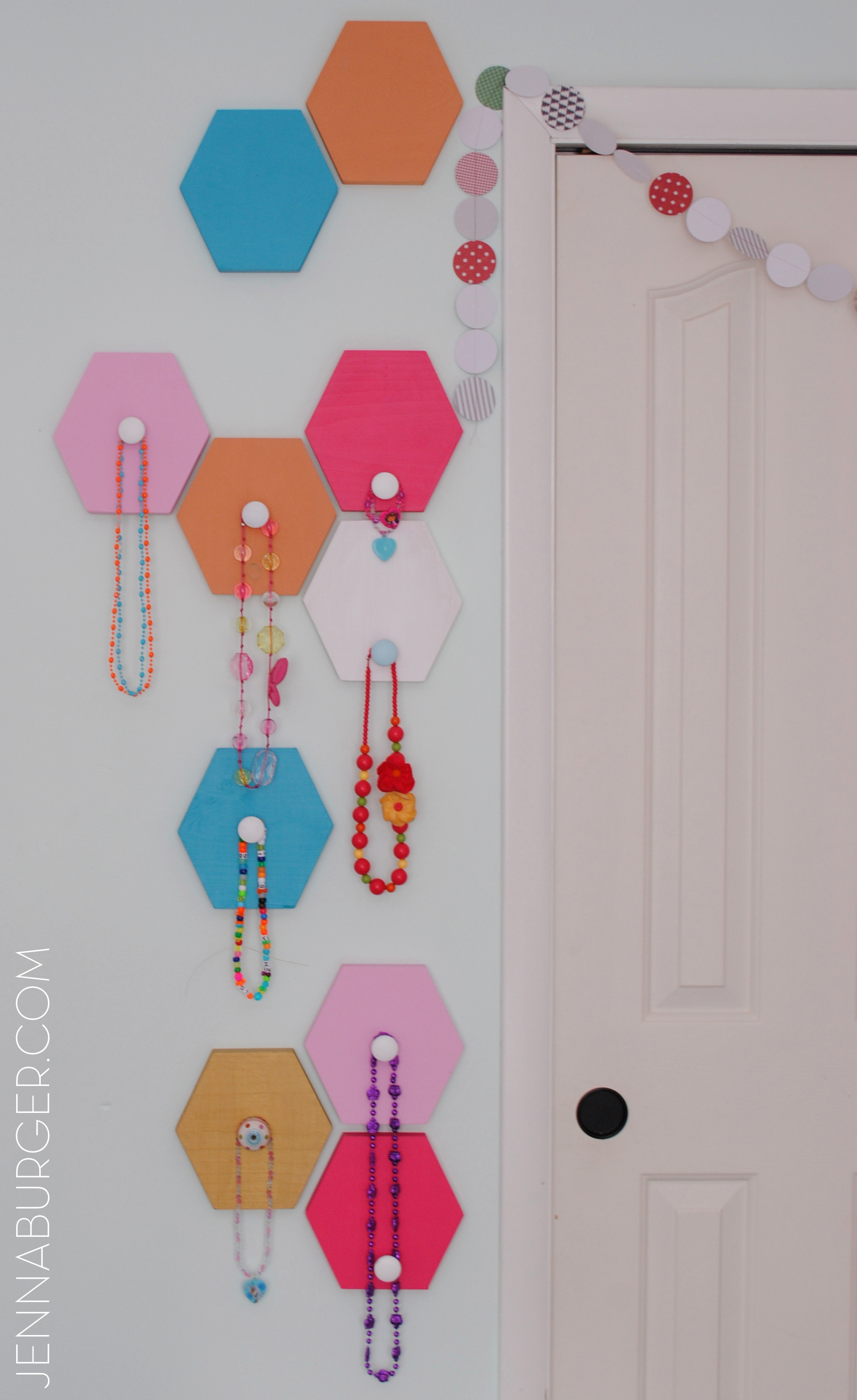 Best ideas about DIY Wall Hooks . Save or Pin DIY Honey b Wall Hooks Jenna Burger Now.