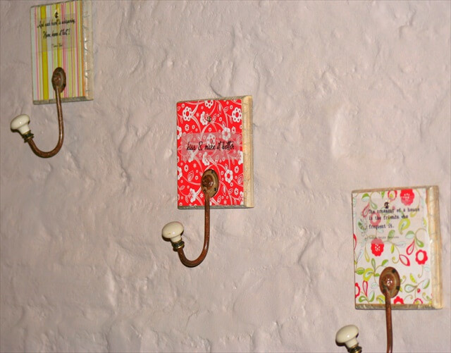 Best ideas about DIY Wall Hooks . Save or Pin 26 DIY Wall Hook Ideas Now.