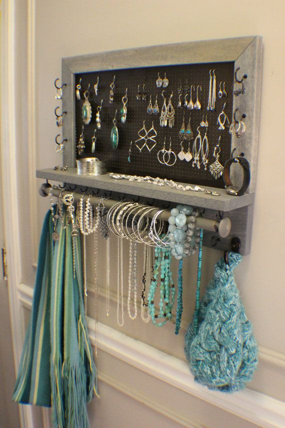 Best ideas about DIY Wall Jewelry Organizer . Save or Pin 25 best ideas about Diy Jewelry Holder on Pinterest Now.