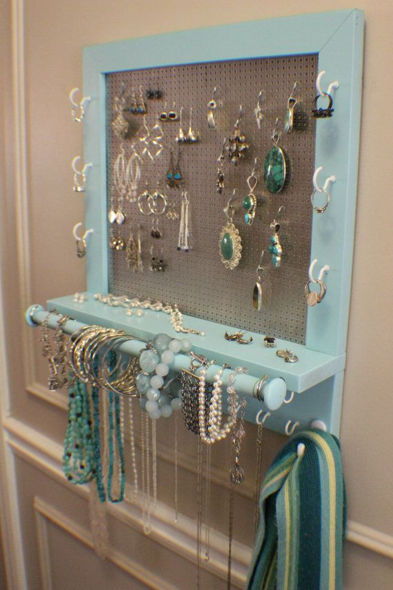 Best ideas about DIY Wall Jewelry Organizer . Save or Pin 25 best ideas about Diy jewelry organizer on Pinterest Now.