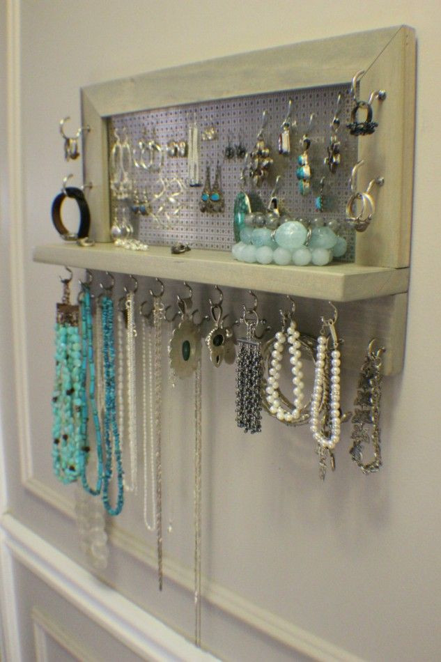 Best ideas about DIY Wall Jewelry Organizer . Save or Pin Best 25 Diy jewelry organizer ideas on Pinterest Now.