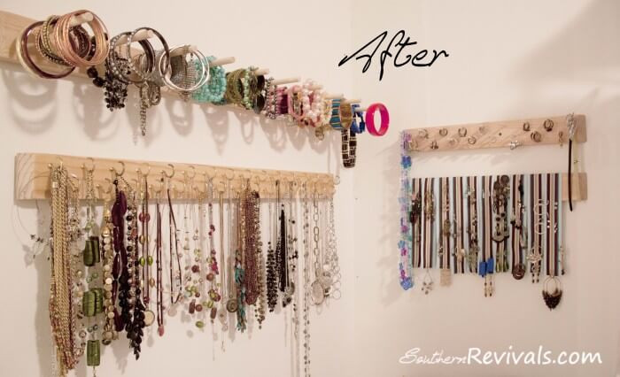 Best ideas about DIY Wall Jewelry Organizer . Save or Pin 100 DIY Jewelry Organizers & Storage Ideas Full Now.