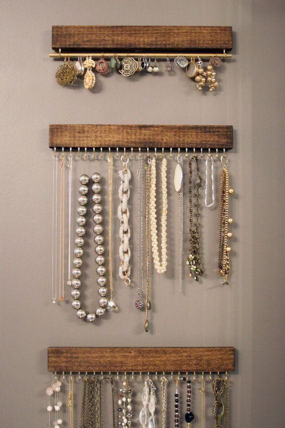 Best ideas about DIY Wall Jewelry Organizer . Save or Pin 17 Best ideas about Jewelry Organizer Wall on Pinterest Now.