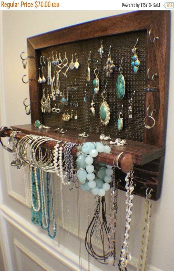 Best ideas about DIY Wall Jewelry Organizer . Save or Pin Best 25 Jewelry organizer wall ideas on Pinterest Now.