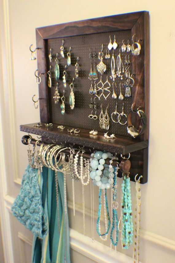 Best ideas about DIY Wall Jewelry Organizer . Save or Pin 15 Amazing DIY Jewelry Holder Ideas to Try Now.