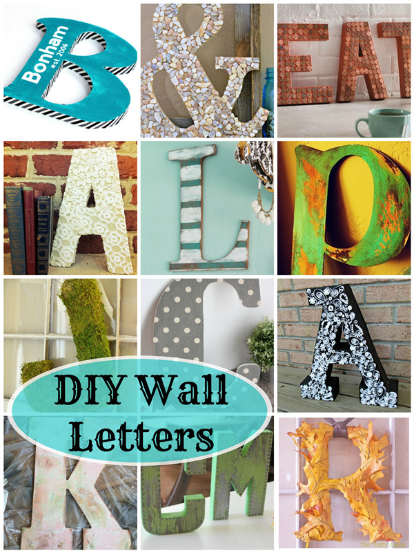 Best ideas about DIY Wall Letters . Save or Pin DIY Wall Letters 16 Awesome Projects Deja Vue Designs Now.