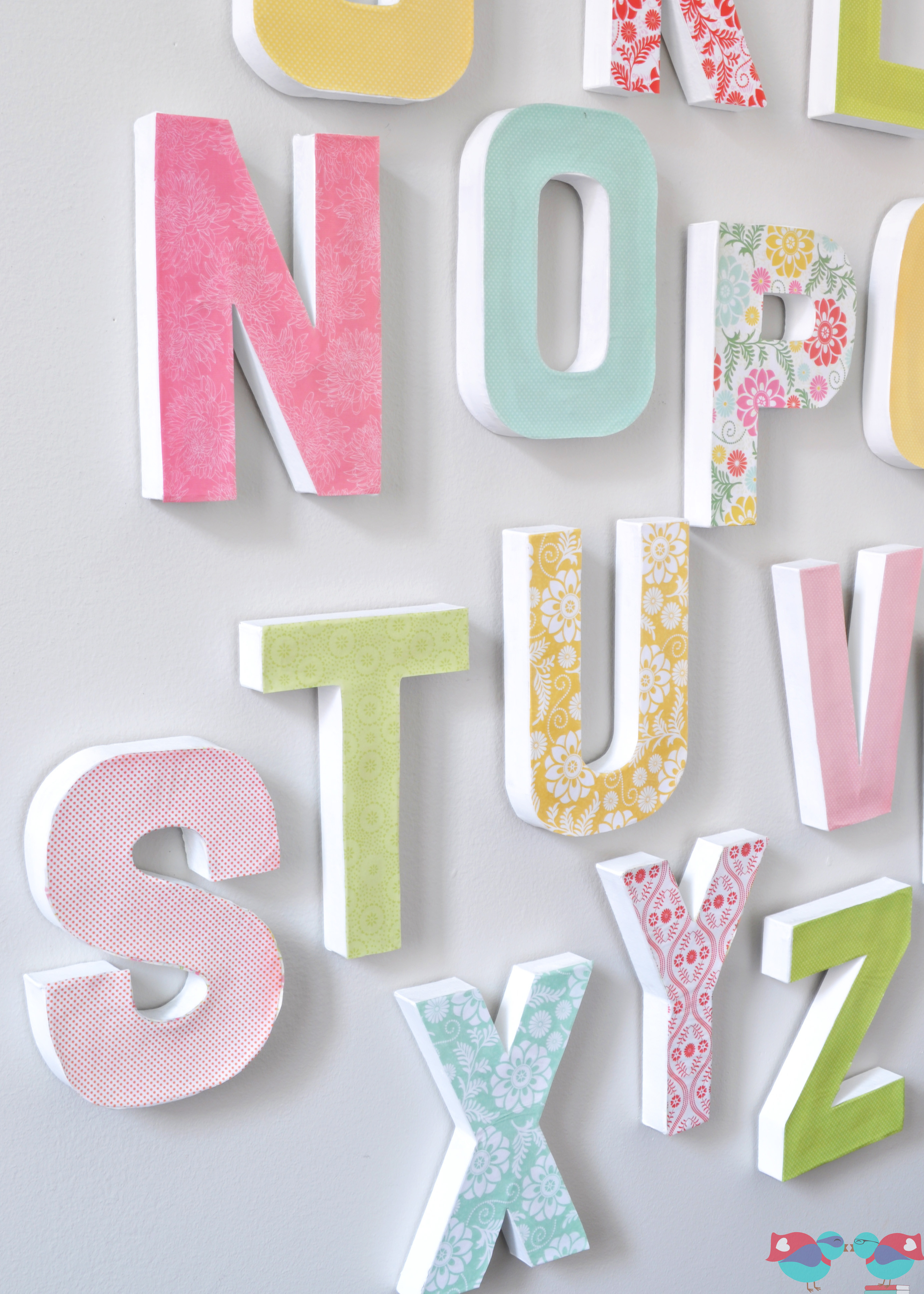 Best ideas about DIY Wall Letters . Save or Pin How to Make your own Letter Wall The Love Nerds Now.