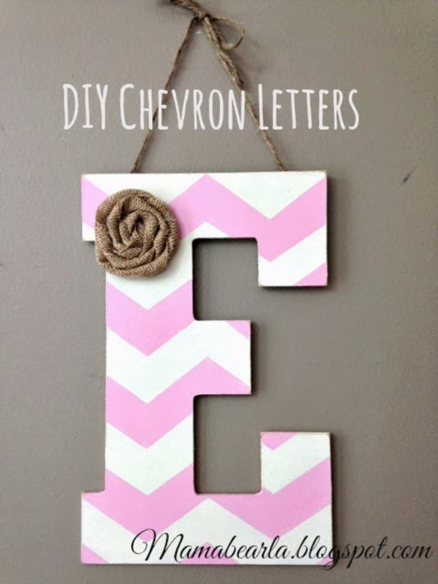 Best ideas about DIY Wall Letters . Save or Pin 41 Amazing DIY Architectural Letters for Your Walls Now.