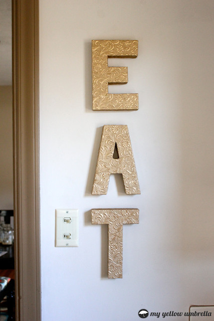 Best ideas about DIY Wall Letters . Save or Pin 17 Interesting DIY Letters Decoration Ideas Now.
