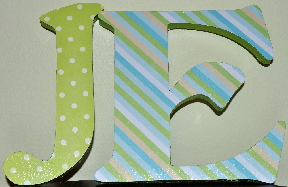 Best ideas about DIY Wall Letters . Save or Pin passionate fort DIY Nursery Wall Letters Now.