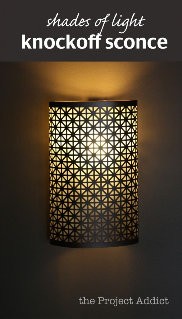 Best ideas about DIY Wall Light . Save or Pin DIY Sconce Lights Now.