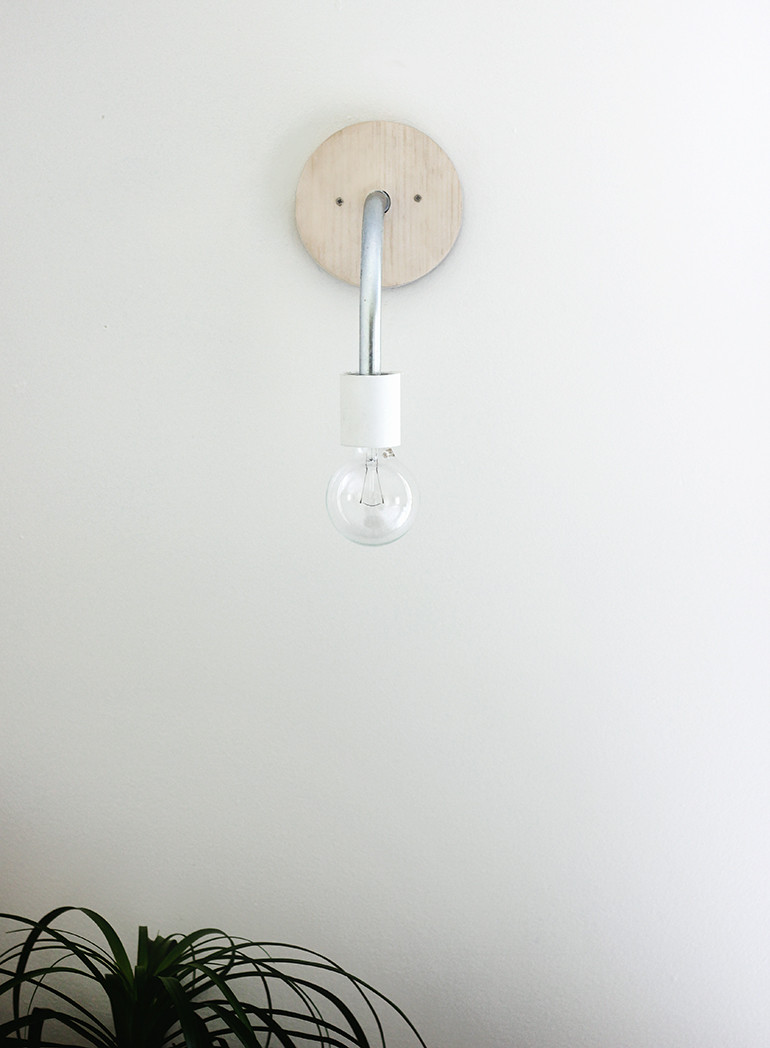 Best ideas about DIY Wall Light . Save or Pin DIY Hanging Wall Light The Merrythought Now.