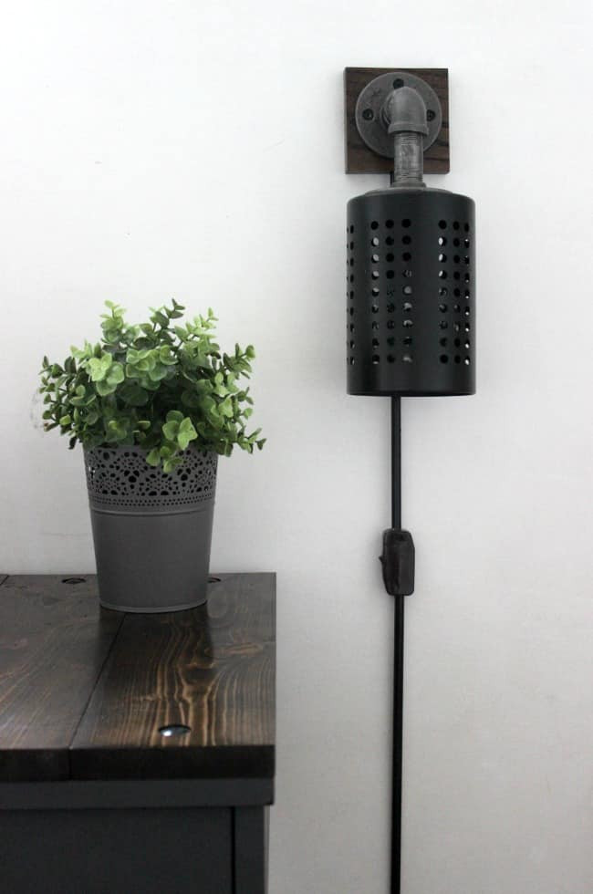 Best ideas about DIY Wall Light . Save or Pin How to Make Your Own DIY Industrial Sconces Love Create Now.