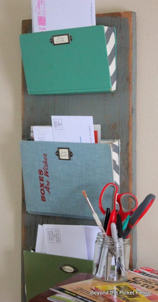 Best ideas about DIY Wall Mail Organizer . Save or Pin 5 More Ways to Organize Your Mail Infarrantly Creative Now.