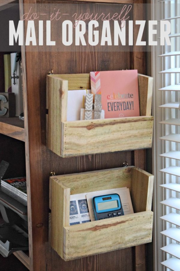 Best ideas about DIY Wall Mail Organizer . Save or Pin Pallet Projects How to Make 11 Unique DIY Projects Now.