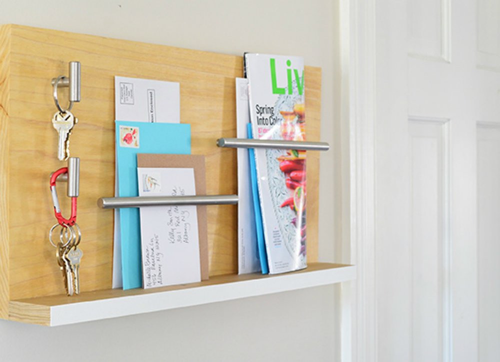 Best ideas about DIY Wall Mail Organizer . Save or Pin Make an Entryway Organizer for Mail and Keys Declutter Now.