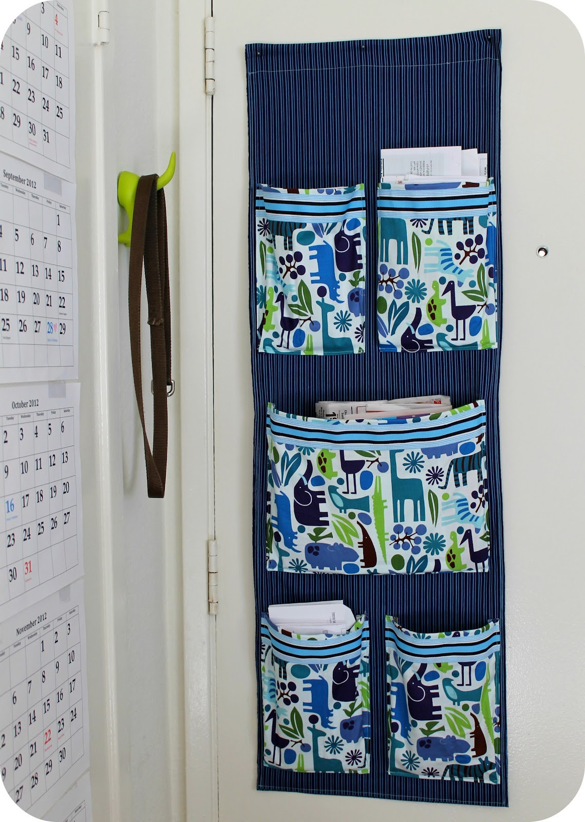 Best ideas about DIY Wall Mail Organizer . Save or Pin DiY Project Sew a Fabric Mail Organizer for the Wall Now.