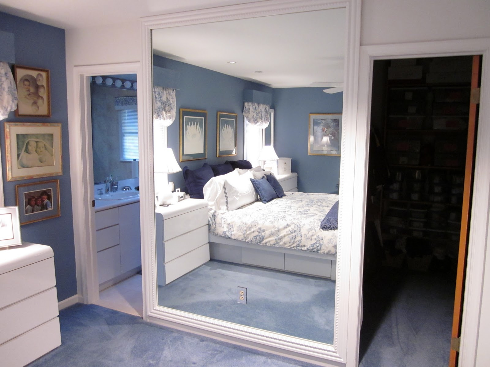 Best ideas about DIY Wall Mirrors . Save or Pin DIY by Design Framing a Mirror Now.