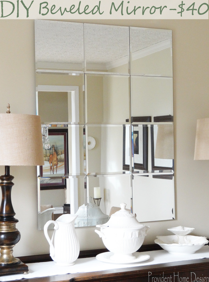 Best ideas about DIY Wall Mirrors . Save or Pin DIY Pottery Barn Brinkley Mirror Knockoff Now.