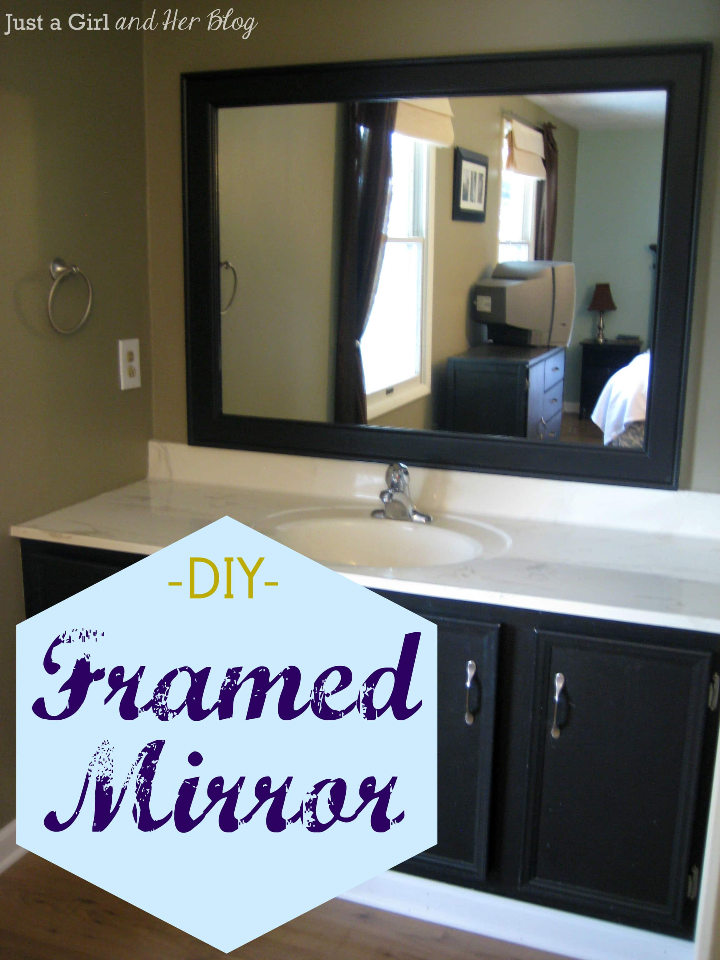 Best ideas about DIY Wall Mirrors . Save or Pin DIY Framed Mirror Now.