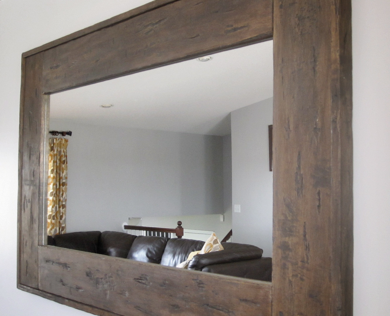 Best ideas about DIY Wall Mirrors . Save or Pin KrisKraft DIY Distressed Mirror Now.