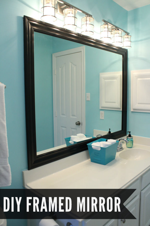 Best ideas about DIY Wall Mirrors . Save or Pin Bathroom Makeover Now.