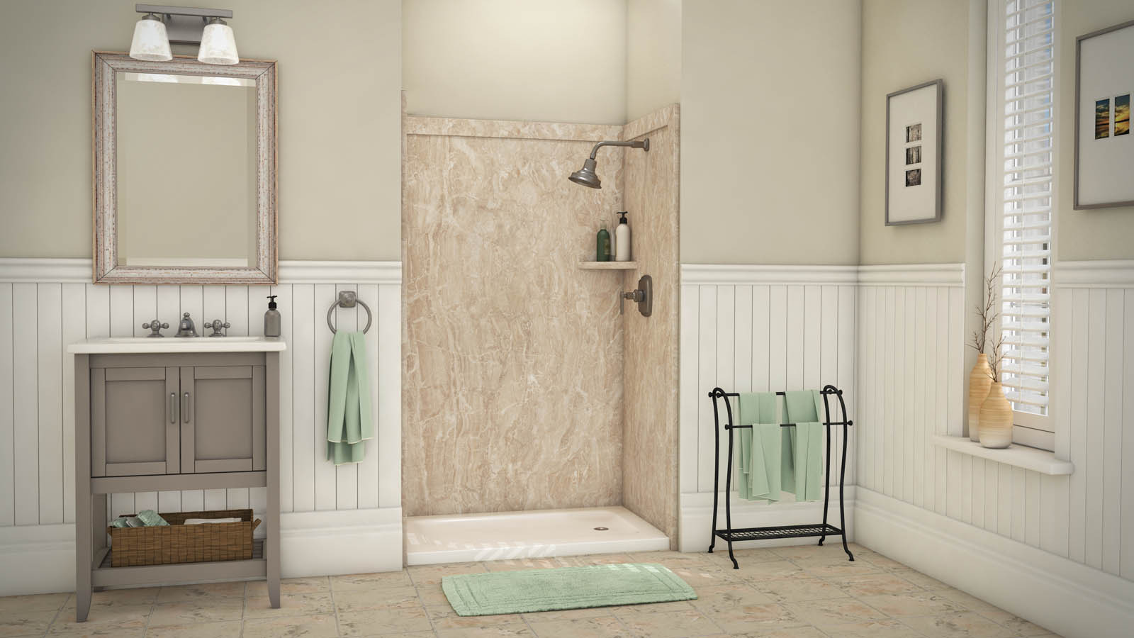 Best ideas about DIY Wall Panels . Save or Pin DIY Shower & Tub Wall Panels & Kits Innovate Building Now.