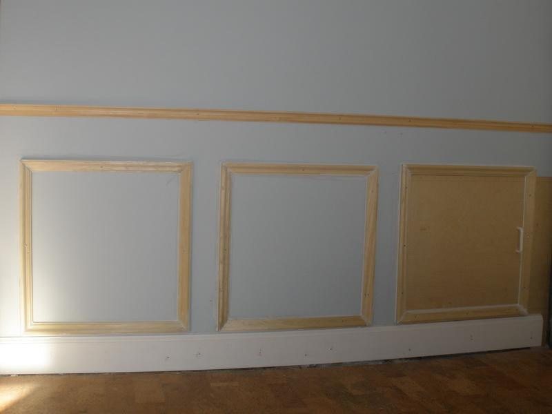 Best ideas about DIY Wall Panels . Save or Pin Walls DIY Wainscoting Best Way To Cut Wainscoting Now.