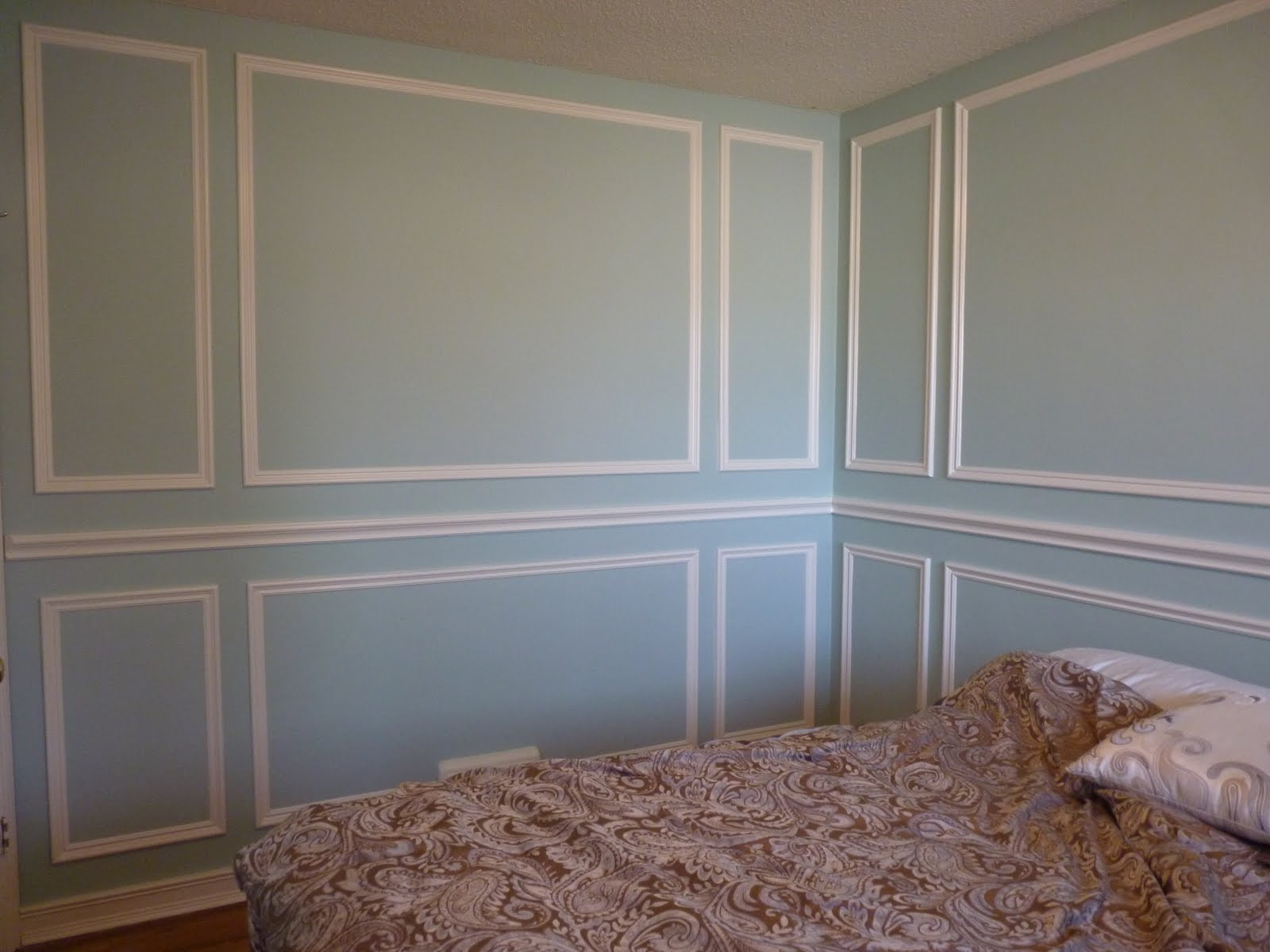 Best ideas about DIY Wall Panels . Save or Pin d i y d e s i g n Installing Molding Panels Now.