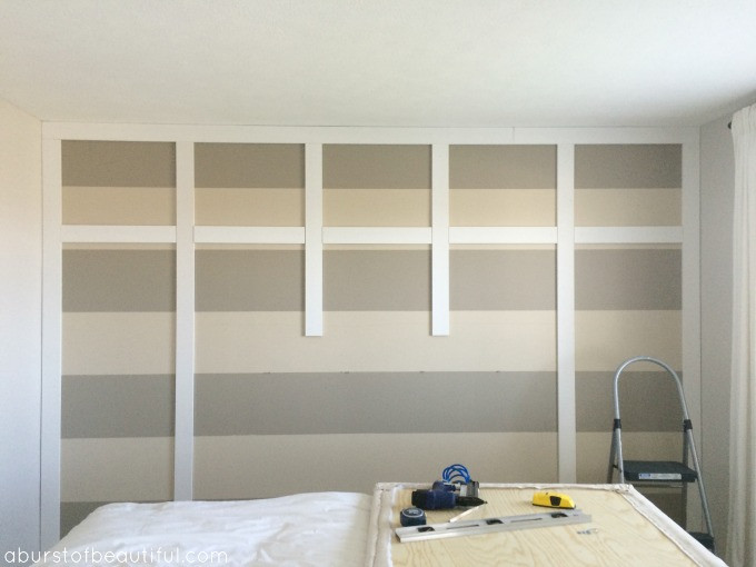 Best ideas about DIY Wall Panels . Save or Pin DIY Paneled Wall Now.