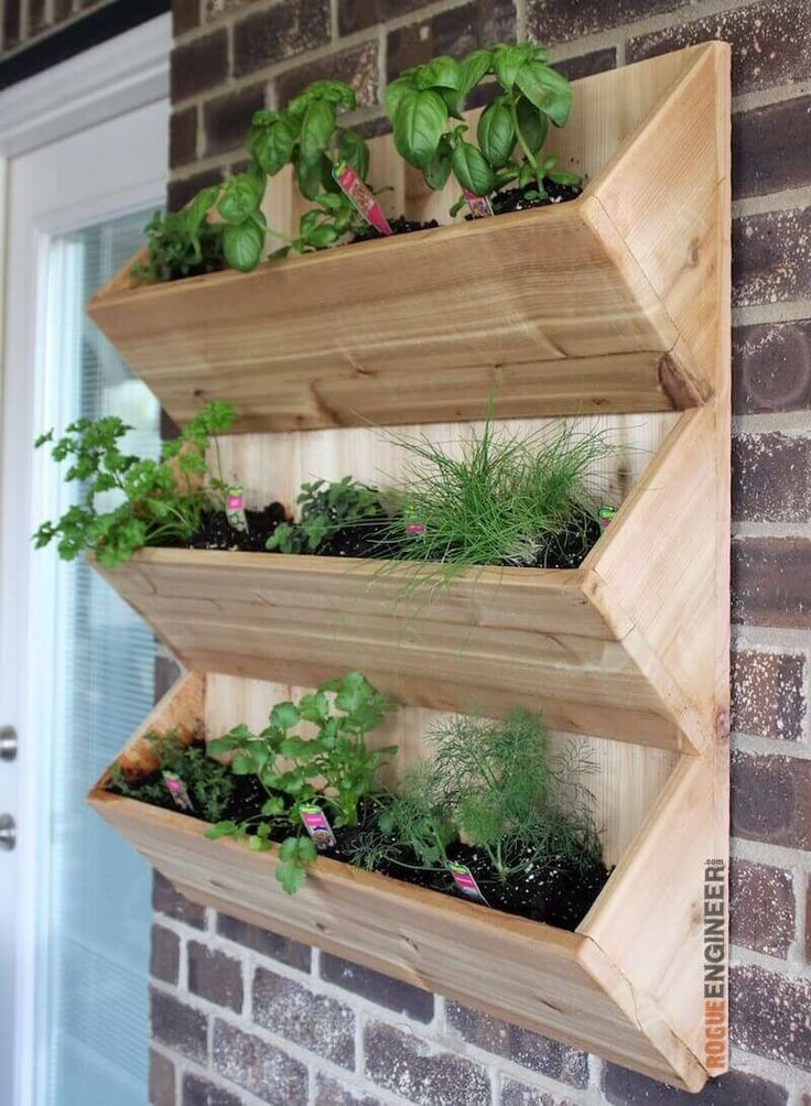 Best ideas about DIY Wall Planter . Save or Pin Cedar Wall Planter Free DIY Plans DIY Now.