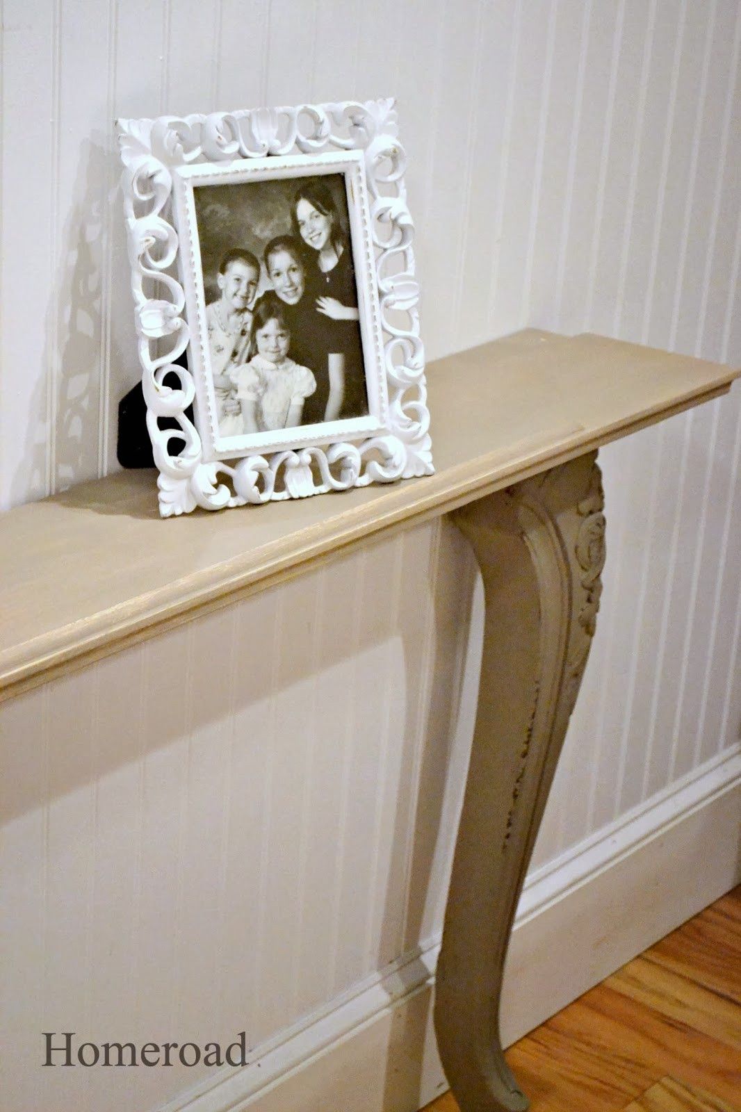 Best ideas about DIY Wall Table . Save or Pin DIY Narrow Wall or Sofa Table Now.