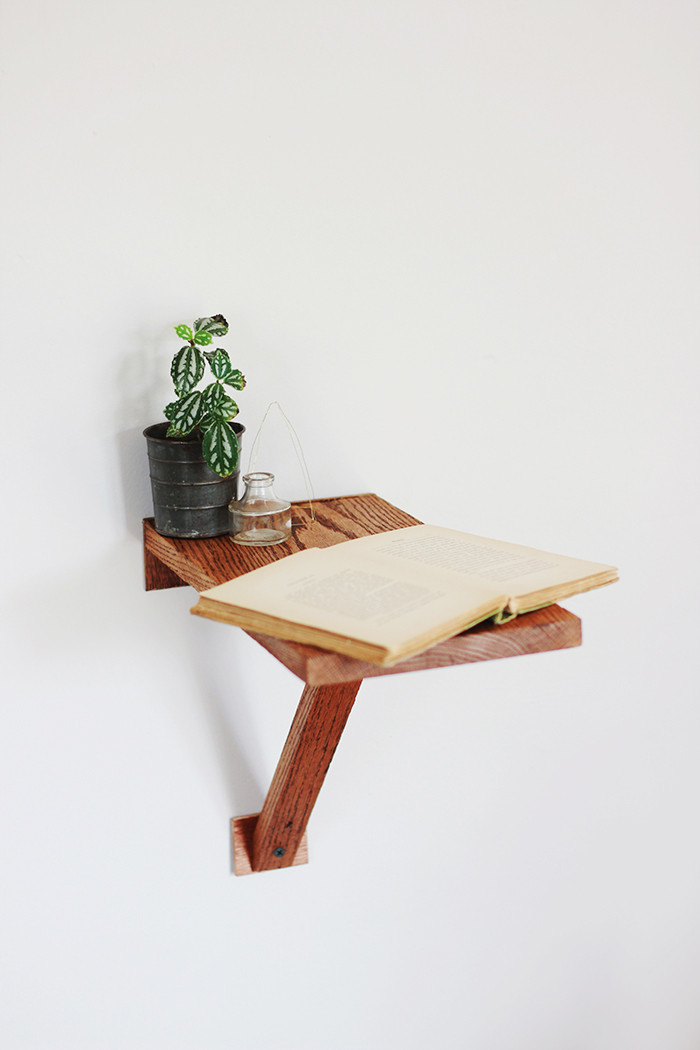 Best ideas about DIY Wall Table . Save or Pin DIY Wall Mount Side Table Now.