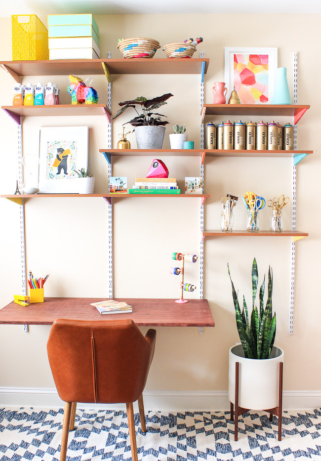Best ideas about DIY Wall Table . Save or Pin Pinned It Made It Loved It DIY Mounted Wall Desk The Now.