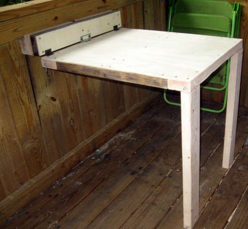 Best ideas about DIY Wall Table . Save or Pin Collapsable Table Treehouse Shop Now.