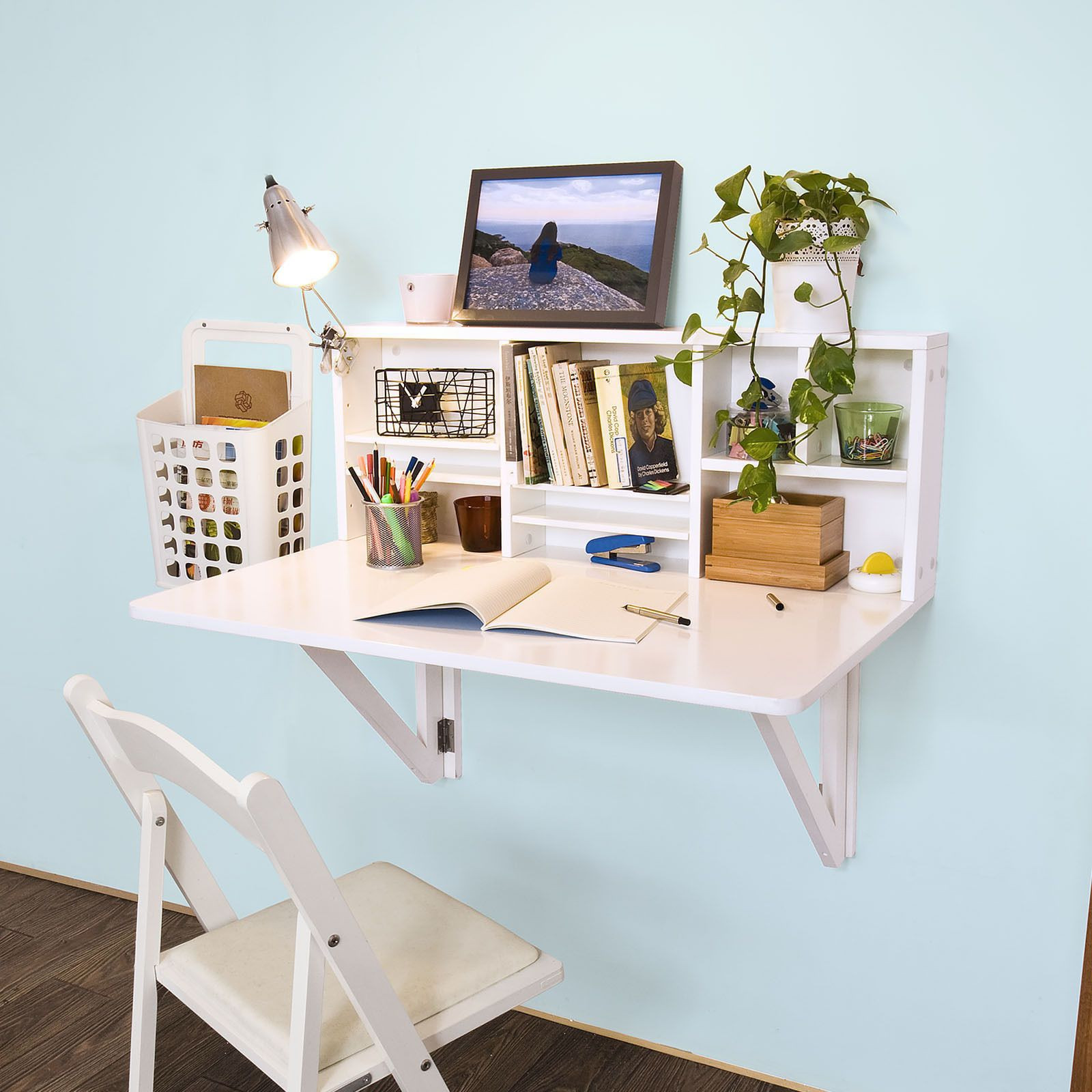 Best ideas about DIY Wall Table . Save or Pin Wall mounted foldable table Wall Shelf Table Kitchen Now.