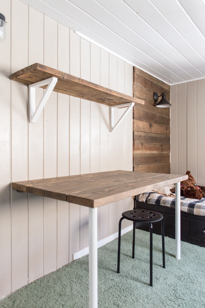 Best ideas about DIY Wall Table . Save or Pin These 18 DIY Wall Mounted Desks Are The Perfect Space Now.