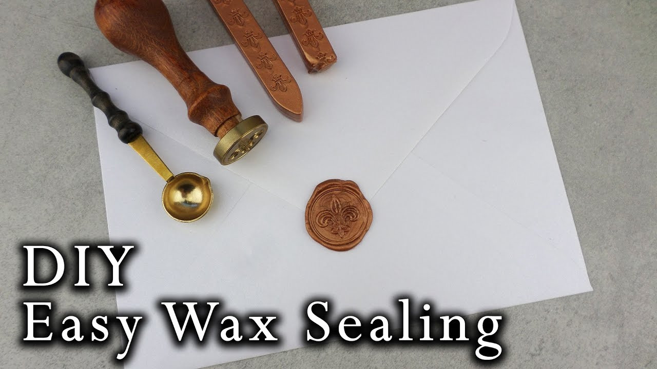 Best ideas about DIY Wax Seal . Save or Pin How to wax seal envelopes Now.