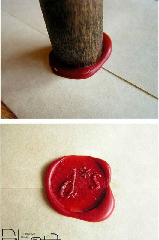 Best ideas about DIY Wax Seal . Save or Pin HOW TO Create a Home Made Wax Seal 16 Pics This would Now.