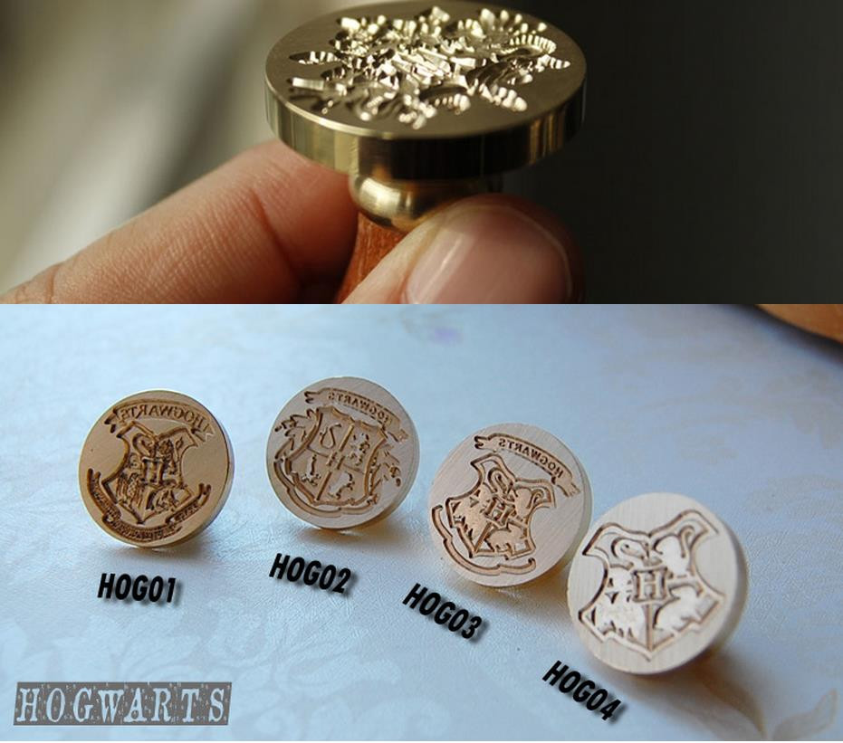 Best ideas about DIY Wax Seal . Save or Pin Retro Harry Potter Hogwarts HOG wax seal stamp copper head Now.
